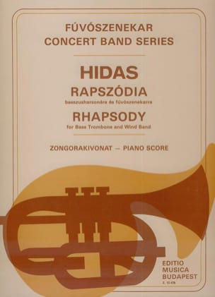 Frigyes Hidas - Rhapsody - Sheet Music - di-arezzo.co.uk