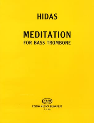 Frigyes Hidas - Meditation - Sheet Music - di-arezzo.co.uk