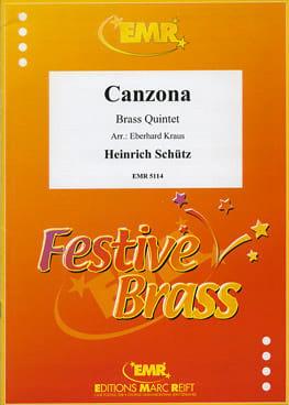 Heinrich Schütz - Canzona - Partition - di-arezzo.fr