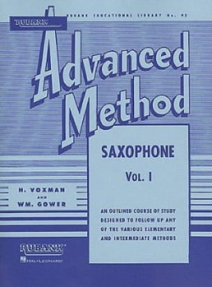 Advanced Method Volume 1 Voxman H. / Gower Wm. Partition laflutedepan