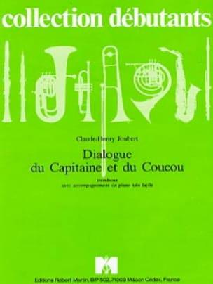 Claude-Henry Joubert - Dialogue du Capitaine et du Coucou - Partition - di-arezzo.fr