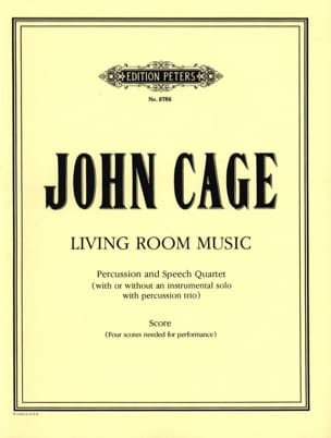 John Cage - Living Room Music - Score - Sheet Music - di-arezzo.co.uk