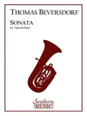 Thomas Beversdorf - Sonata - Partition - di-arezzo.fr