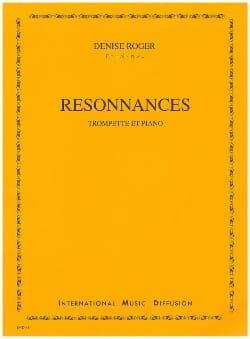Denise Roger - resonances - Sheet Music - di-arezzo.co.uk