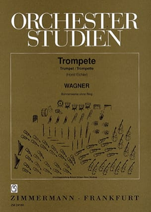 Richard Wagner - Orchester Studien - Sheet Music - di-arezzo.co.uk