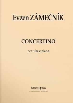 Evzen Zamecnik - Concertino - Partition - di-arezzo.fr