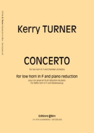 Concerto Kerry Turner Partition Cor - laflutedepan