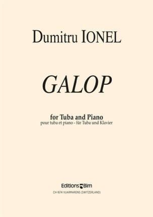 Dumitru Ionel - Galop - Partition - di-arezzo.fr