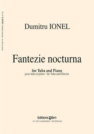 Dumitru Ionel - Fantazie Nocturna - Partition - di-arezzo.fr