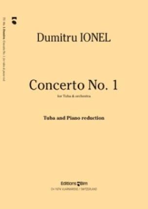 Dumitru Ionel - Concerto N° 1 - Partition - di-arezzo.fr