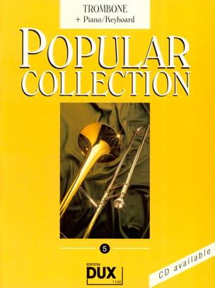 Popular collection volume 5 Partition Trombone - laflutedepan