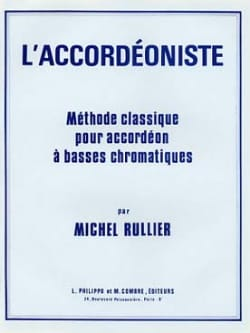 Michel Rullier - The Accordionist - Classical Method - Sheet Music - di-arezzo.co.uk