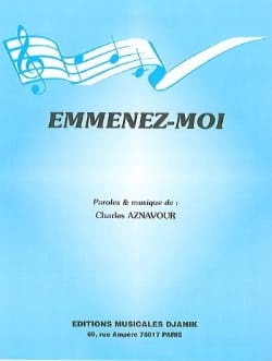 Charles Aznavour - Take me - Sheet Music - di-arezzo.com