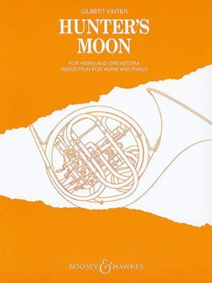 Gilbert Vinter - Hunter's Moon - Partition - di-arezzo.fr