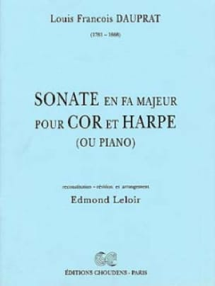Louis François Dauprat - Sonata in F Major - Sheet Music - di-arezzo.co.uk