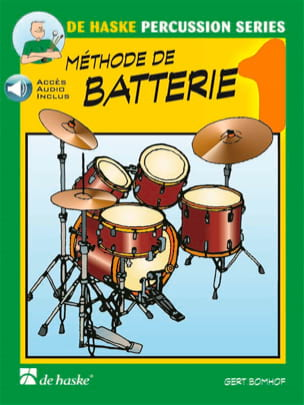 Gert Bomhof - Battery Method Volume 1 - Sheet Music - di-arezzo.co.uk