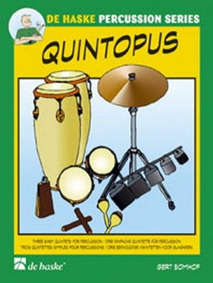 Quintopus - Gert Bomhof - Partition - laflutedepan.com