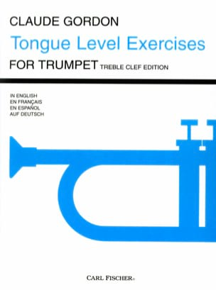Tongue Level Exercises - Claude Gordon - Partition - laflutedepan.com