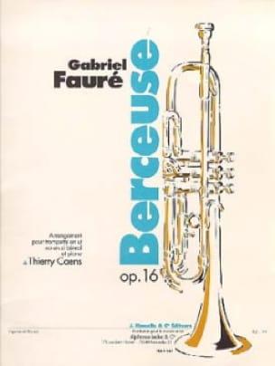 Berceuse Opus 16 Gabriel Fauré Partition Trompette - laflutedepan