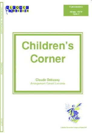 Children's Corner - Claude Debussy - Partition - laflutedepan.com