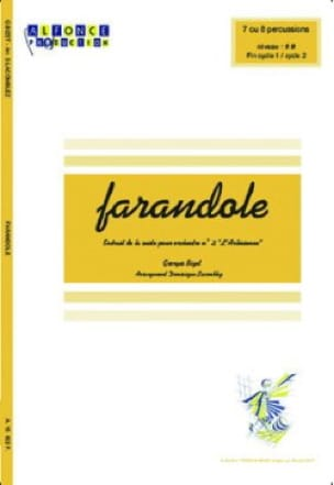 BIZET - Farandole - The arlesienne - Sheet Music - di-arezzo.com