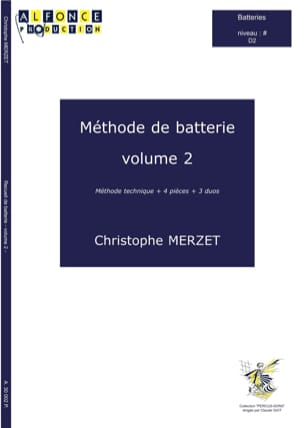 Christophe Merzet - Volume 2 Battery Method - Sheet Music - di-arezzo.com