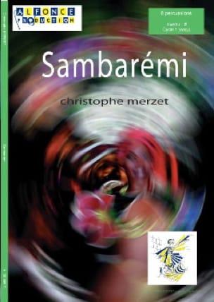 Christophe Merzet - Sambarémi - Partition - di-arezzo.com