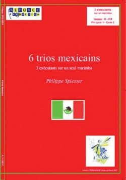 6 Trios Mexicains Philippe Spiesser Partition laflutedepan