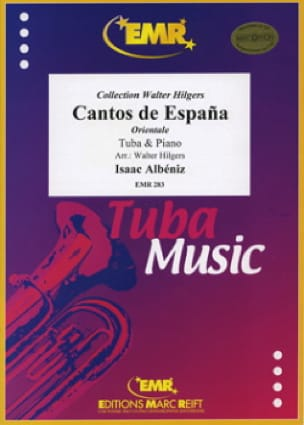 Cantos de Espana Opus 32 N° 2 - ALBENIZ - Partition - laflutedepan.com