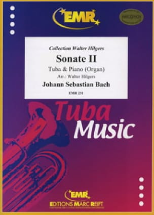 BACH - Sonate 2 - Partition - di-arezzo.fr