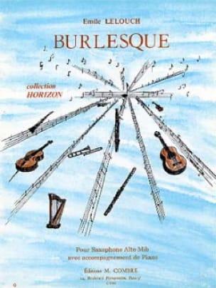 Emile Lelouch - Burlesque - Partition - di-arezzo.fr