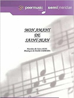Emile Carrara - My lover of Saint John - Sheet Music - di-arezzo.co.uk