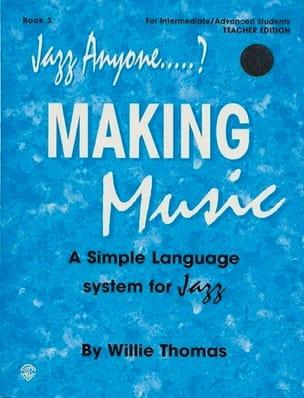 Jazz Anyone Making Music Volume 3 avec 2 CDs - laflutedepan.com