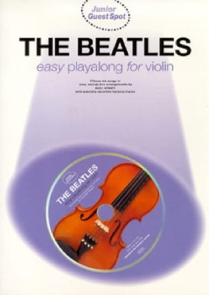 BEATLES - Guest Spot Junior - Easy Playalong Junior For Violin - Partition - di-arezzo.fr