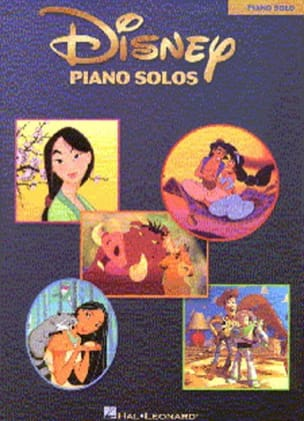 DISNEY - Disney Piano Solos - Partition - di-arezzo.fr