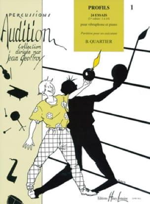 Bart Quartier - Profils 24 Essais Volume 1 - Partition - di-arezzo.fr