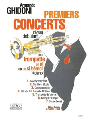 Armando Ghidoni - First Concerts - Sheet Music - di-arezzo.co.uk