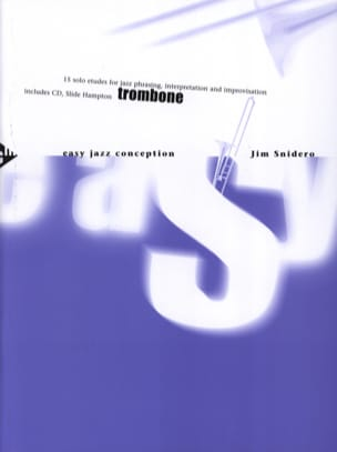 Jim Snidero - Easy jazz design - 15 solo studies - Sheet Music - di-arezzo.com