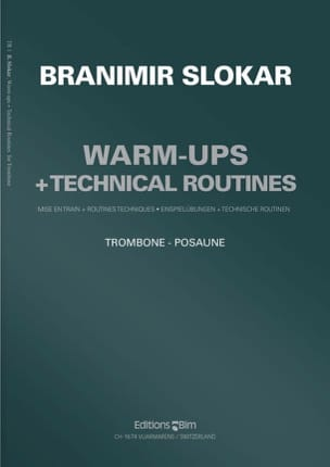 Branimir Slokar - Warm-Ups + Technical Routines - Partition - di-arezzo.fr