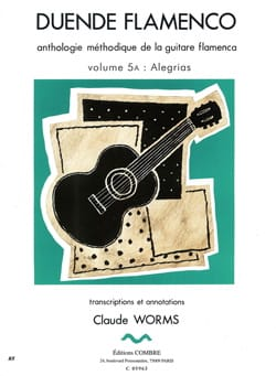 Claude Worms - Duende Flamenco Volume 5 To: Alegrias - Sheet Music - di-arezzo.com