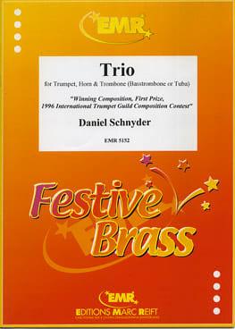 Trio Daniel Schnyder Partition Ensemble de cuivres - laflutedepan