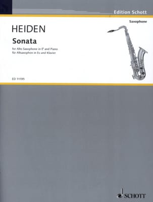 Bernhard Heiden - Sonata - Sheet Music - di-arezzo.co.uk
