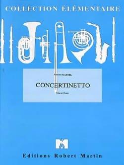 Concertinetto Fabrice Kastel Partition Tuba - laflutedepan