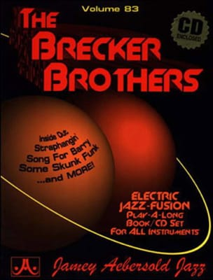 METHODE AEBERSOLD - Volume 83 - The Brecker Brothers - Partition - di-arezzo.fr