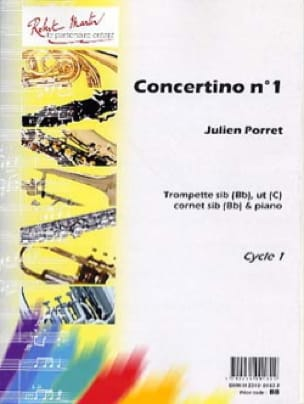 Julien Porret - Concertino N°1 - Partition - di-arezzo.jp
