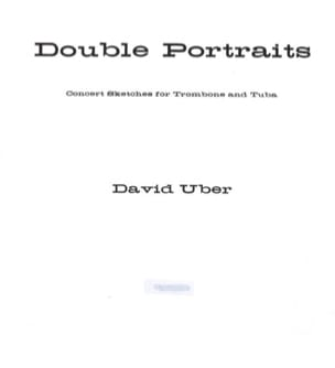 Double portraits David Uber Partition laflutedepan