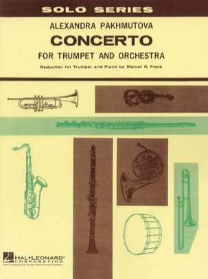 Alexandra Pakhmutova - Concerto - Sheet Music - di-arezzo.co.uk