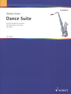 Matyas Seiber - Dance Suite - Partition - di-arezzo.fr