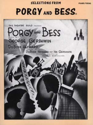Porgy And Bess Selections GERSHWIN Partition laflutedepan