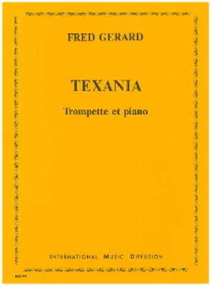 Fred Gerard - Texania - Partition - di-arezzo.fr